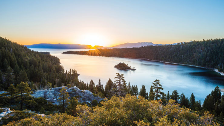 Emerald Bay, Lake Tahoe Rachid Dahnoun