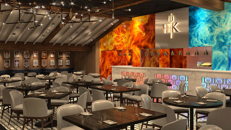 Gordon Ramsay HELL'S KITCHEN Harveys Lake Tahoe Hotel and Casino