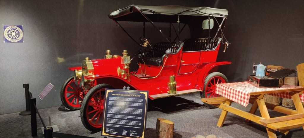 New Exhibit: Ford's Model T at National Automobile Museum
