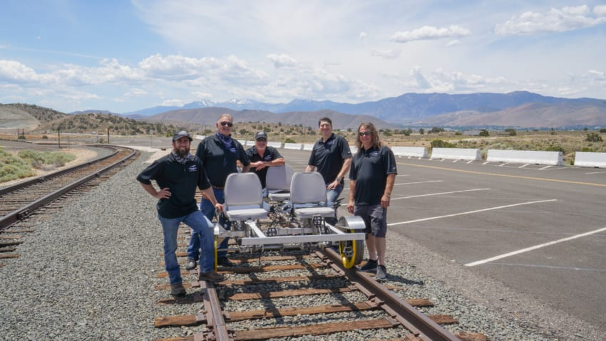 "The People Who Made ""Rail Bike"" happen"