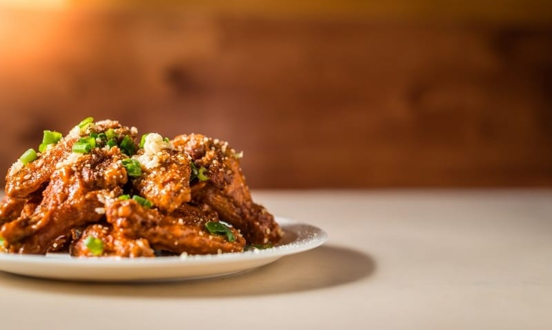 Mouth Watering Wings at Noble Pie