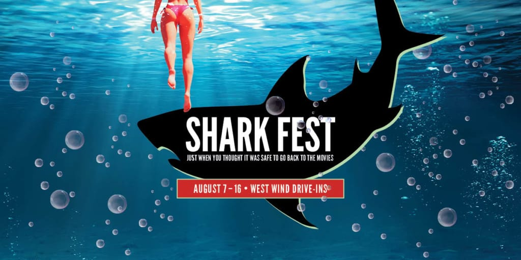 Shark Fest at the Drive-In