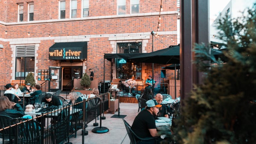 Wild River Grille Patio