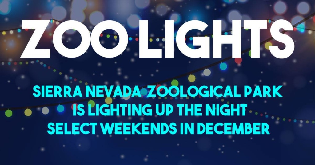 Zoo Lights at Sierra Nevada Zoological Park
