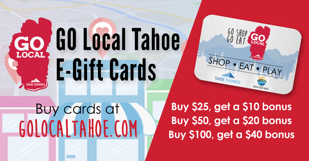 Go Local Tahoe Gift Cards