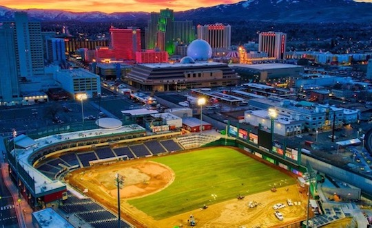 Reno Aces Opening Day