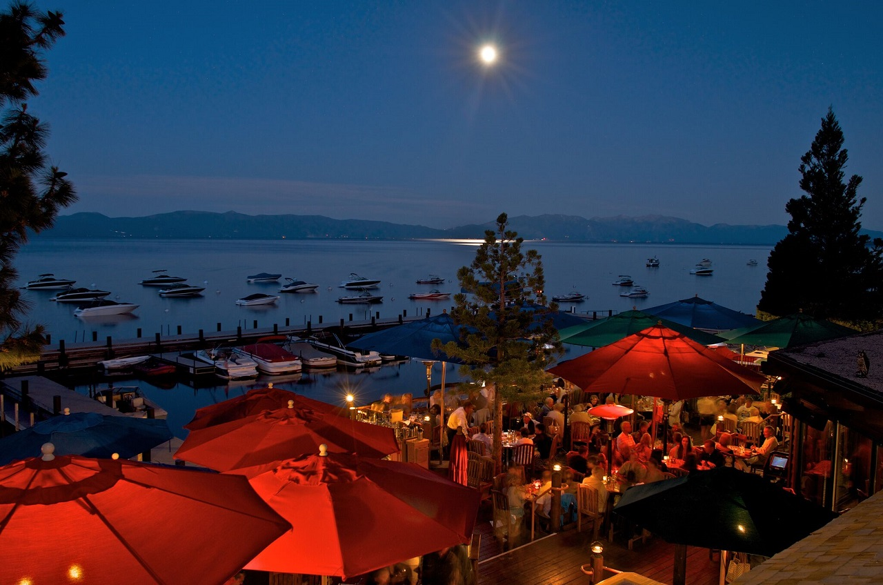 Sunnyside Restaurant and Lodge - Outdoor Dining in Reno/Tahoe