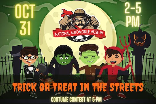 Trick or Treats in the Streets at National Automobile Museum